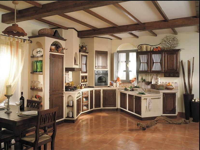 Perimetro cucine presenta le sue cucine country chic - Cucine country in muratura ...