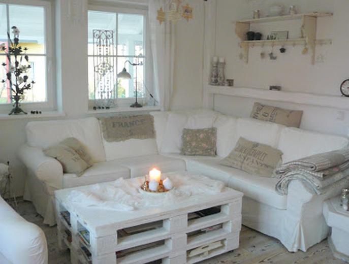 Credenza Per Casa Al Mare : Ecco com è una casa arredata completamente di bianco