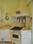 Cucina chiara coloniale l'Arte di Mastro Geppetto