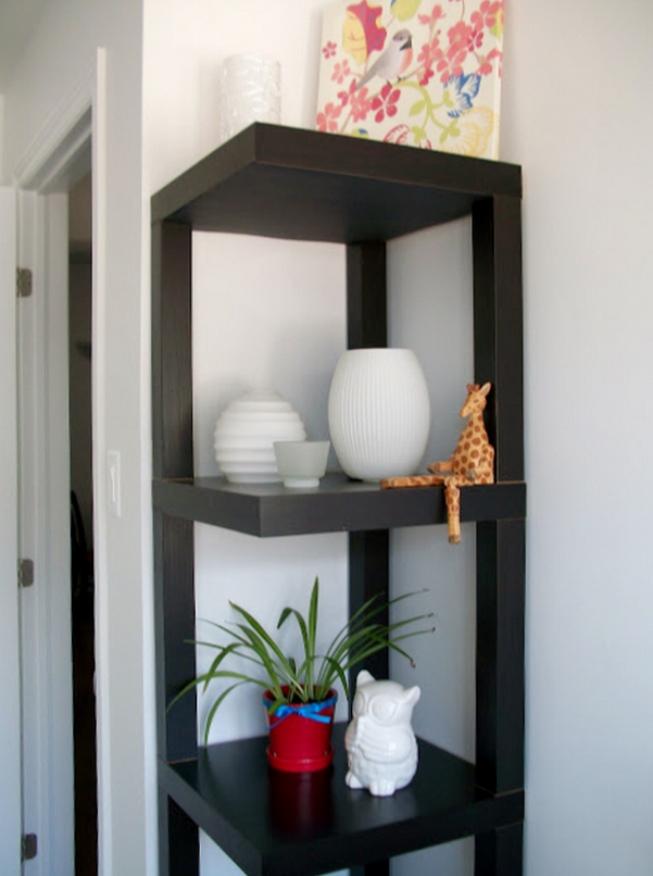Come trasformare mobili ikea in stile shabby - Scaffale cucina ...