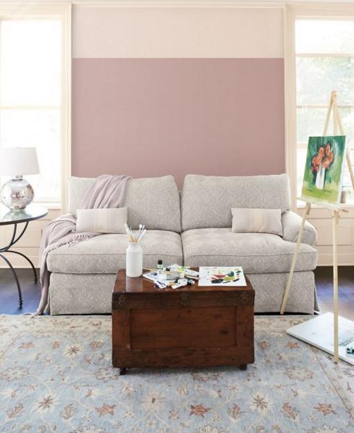 Dipingere le pareti di casa con colori a contrasto - Dipingere a casa ...