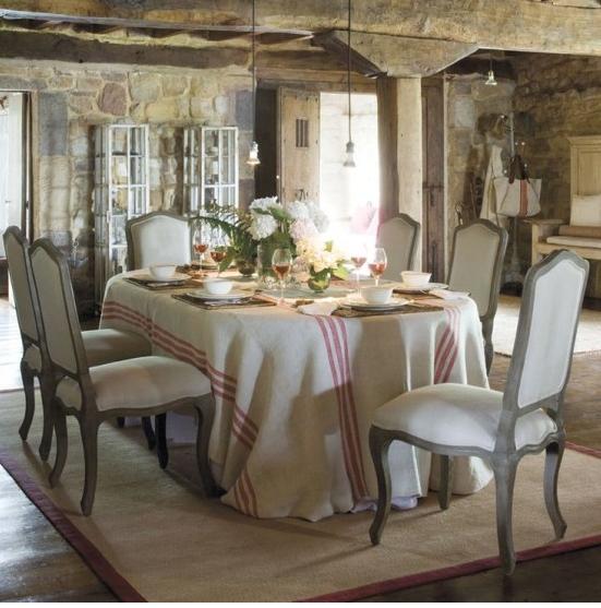 La sala da pranzo in stile provenzale ecco come arredarla for Sala da pranzo decor