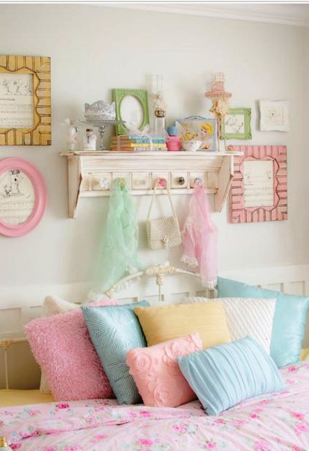 Camerette shabby chic per bambina for Idee tende cameretta bambini