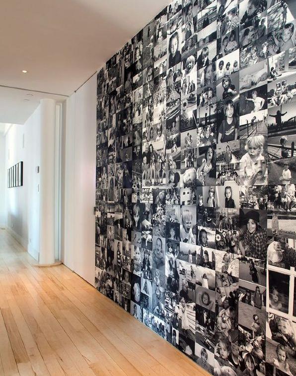 6 idee per addobbare le pareti della tua casa utilizzando for Logare le foto del camino di casa