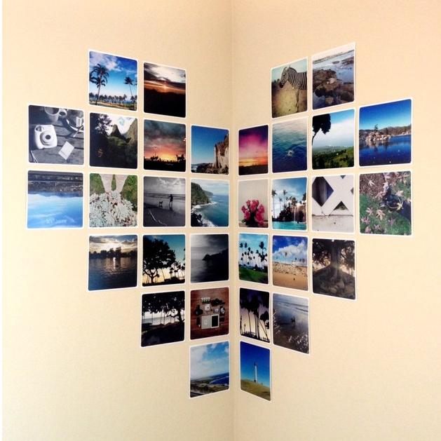 Amato 6 idee per addobbare le pareti della tua casa utilizzando vecchie foto LF94