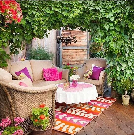 Stunning Come Arredare Un Terrazzo Spendendo Poco Pictures - Design ...