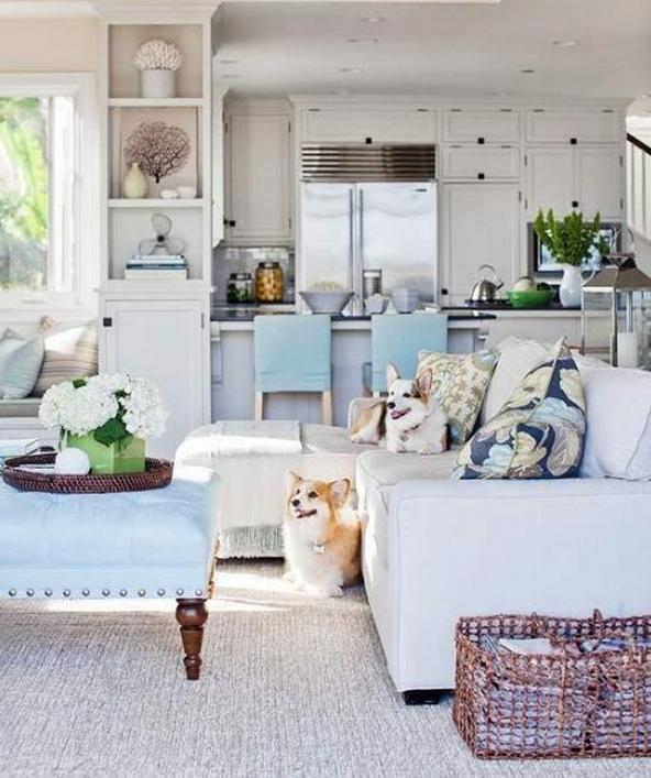 Come arredare il tuo salotto in stile shabby for Arredamento classico bianco