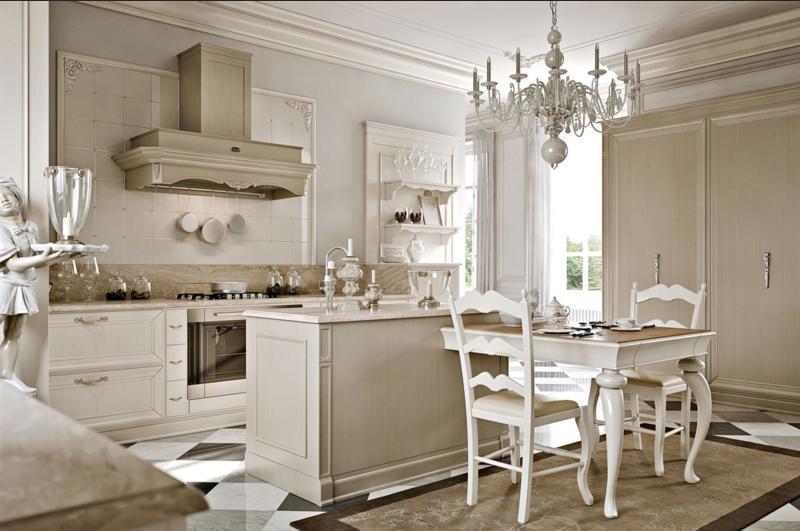Cucina stile provenzale: l\'azienda Arcari presenta le sue