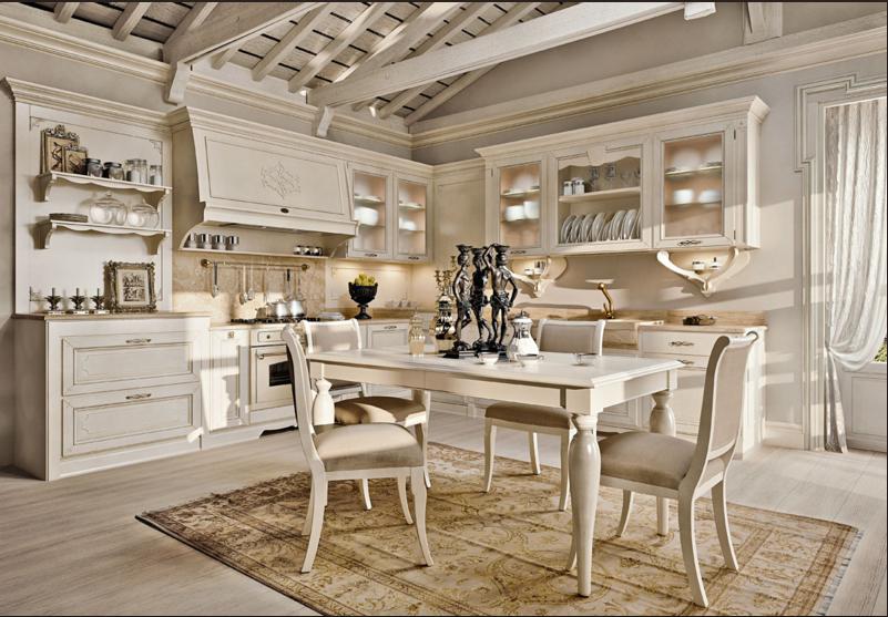 Cucina stile provenzale l 39 azienda arcari presenta le sue - Mobili stile country ...