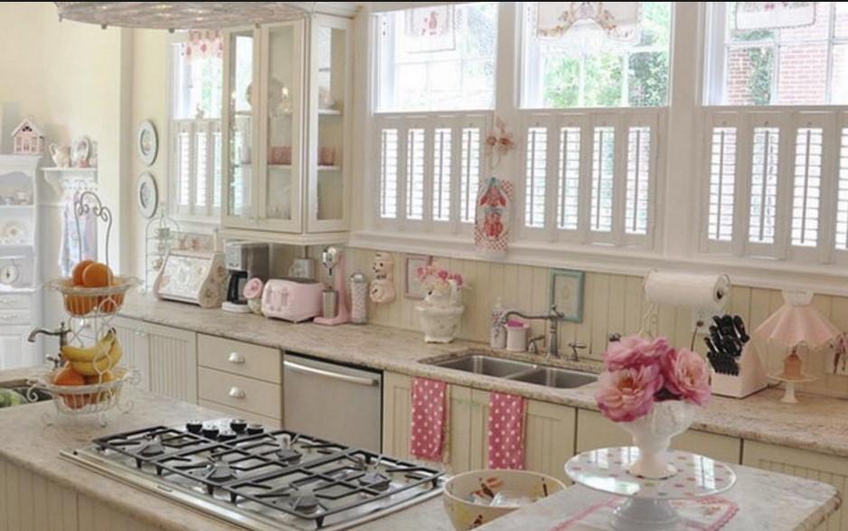 Cucina shabby chic moderno sa15 regardsdefemmes for Suggerimenti per arredare casa