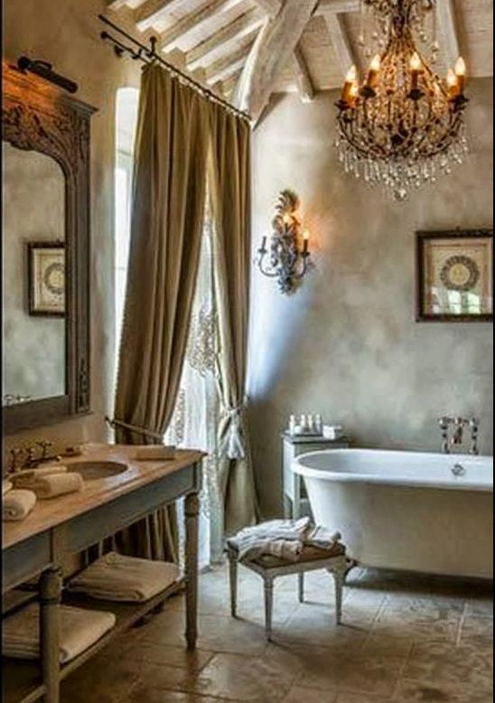 Shabby chic interiors guarda gli ambienti pi belli - Shabby chic interiors bagno ...