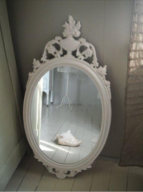 Specchio shabby chic guarda quelli pi adatti per la tua casa - Specchio ovale shabby chic ...