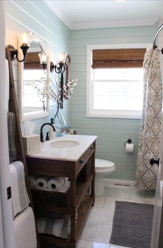 Tutti i segreti per realizzare un bagno shabby chic