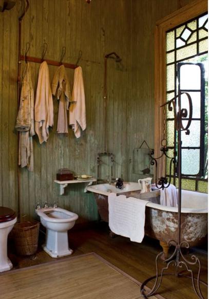 Bagni country chic ecco come arredarli - Shabby chic interiors bagno ...