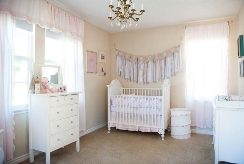 Sei idee per decorare la cameretta del neonato - Idee per pitturare una cameretta ...