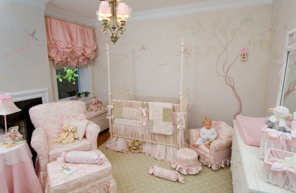 Camerette Per Neonati Rosa : Arredamento per neonati. arredamento per neonati. come decorare la