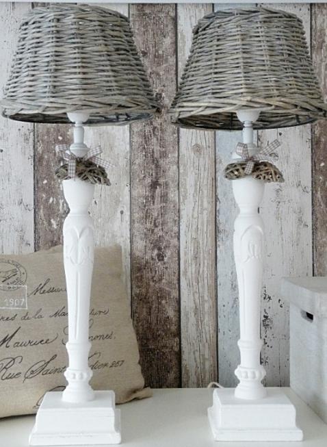 Lampade shabby chic idee originali per la tua casa foto for Cestini shabby