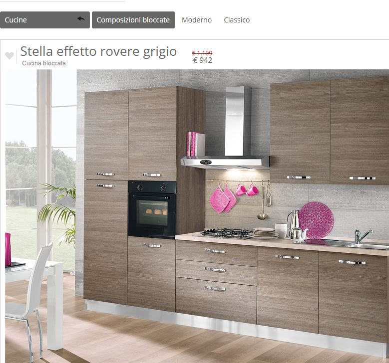 Awesome mondo convenienza cucine bloccate gallery - Centro convenienza palermo cucine ...