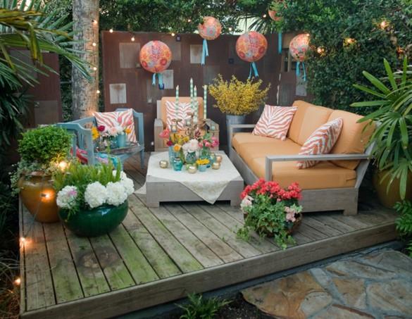 Giardino shabby chic alcuni spunti per arredarlo con glamour - Shabby chic outdoor furniture ...