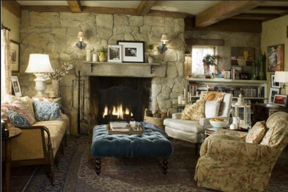 arredamento stile inglese: suggerimenti su come arredare casa - Come Arredare Un Soggiorno Con Camino