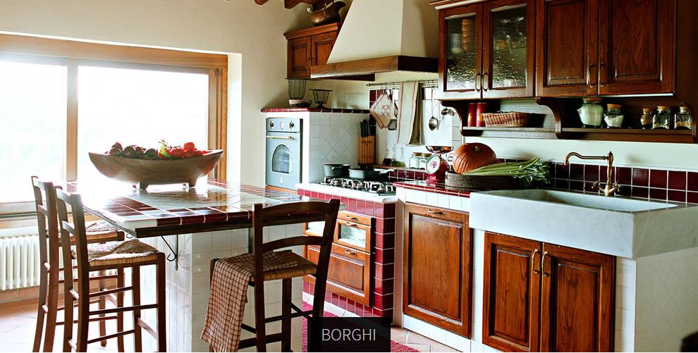 Cucina shabby l 39 azienda asso e le sue cucine classiche for Aziende cucine design