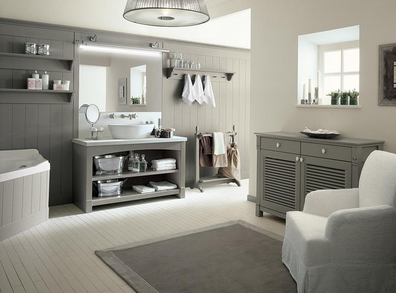 Bagni country l 39 azienda minacciolo presenta la sua collezione - Arredo bagno classico moderno ...