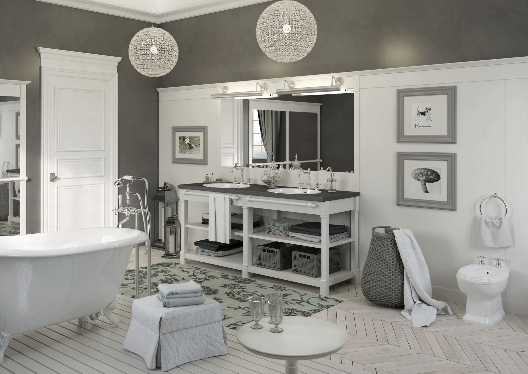 Mobile bagno stile provenzale. trendy good bagno country jpg with