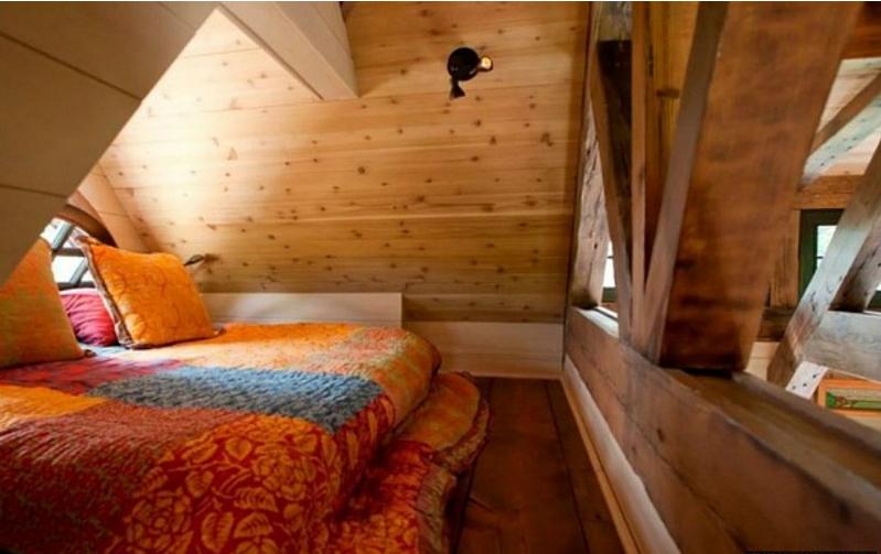Case country chic ecco un piccolo casolare di 150 metri - Camere da letto matrimoniali rustiche ...