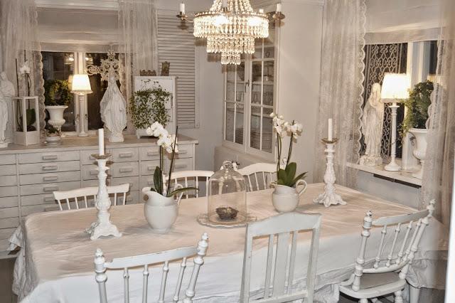 Shabby home quando il tuo spazio diventa glamour - Sala da pranzo shabby ...