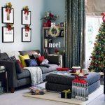 Arredo natalizio: idee per allestire la tua casa durante le feste salotto natalizio