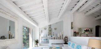Arredamento provenzale: una casa country ad Amalfi salotto