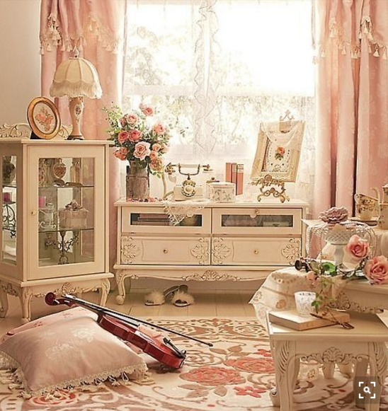 shabby chic rose interiors per sognare ad occhi aperti. Black Bedroom Furniture Sets. Home Design Ideas