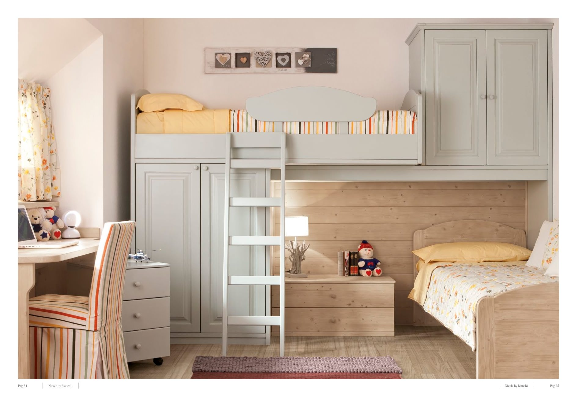 Camere country chic l 39 azienda bianchi presenta la - Camera da letto country chic ...