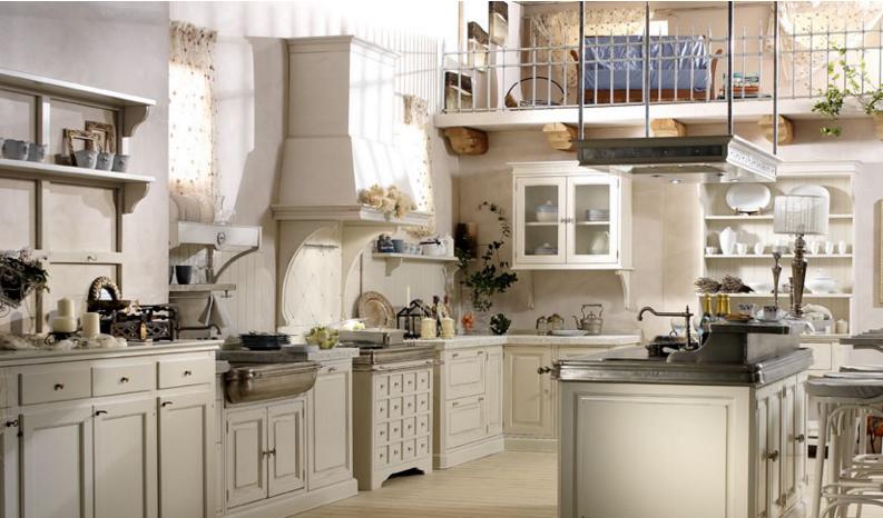 Le cucine dell\'azienda Russo: scopri i modelli più shabby