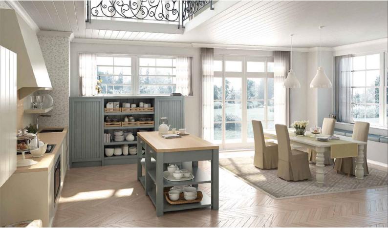 Le cucine dell 39 azienda russo scopri i modelli pi shabby - Le cucine piu belle ...