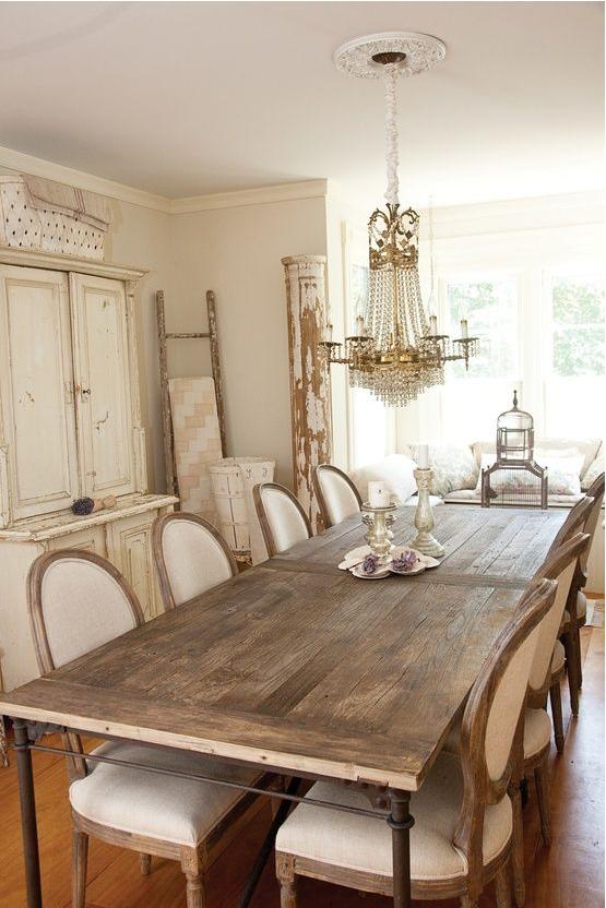 La sala da pranzo in stile provenzale ecco come arredarla for Sala pranzo vecchia