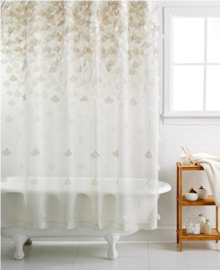 tenda da vasca con petali