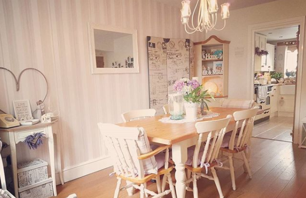 Sala Da Pranzo Shabby Chic. Interesting Shabby Chic Living Room ...