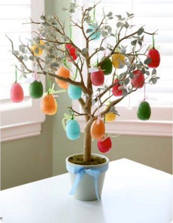 Come realizzare alberi pasquali fai da te for Alberi da vaso