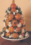 arance addobbi natalizi per mini albero