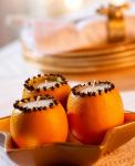 arance addobbi natalizi per candele
