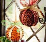 arance addobbi natalizi per palline