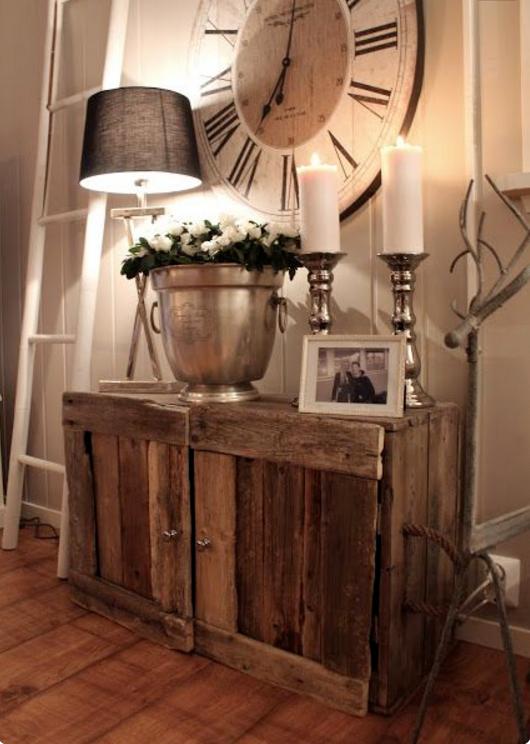 Con l 39 arredo rustico fai da te la tua casa diventer magica for Arredare casa idee fai da te