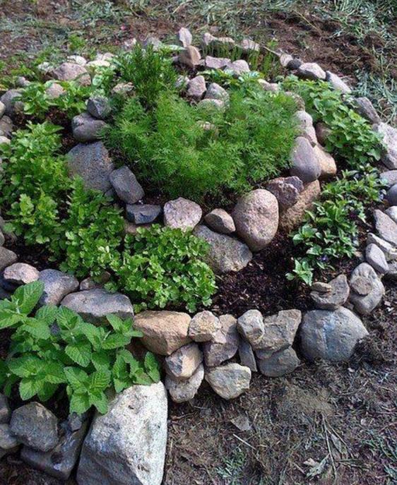 Favoloso Se hai il pollice verde le aiuole con pietre naturali non possono  WQ36