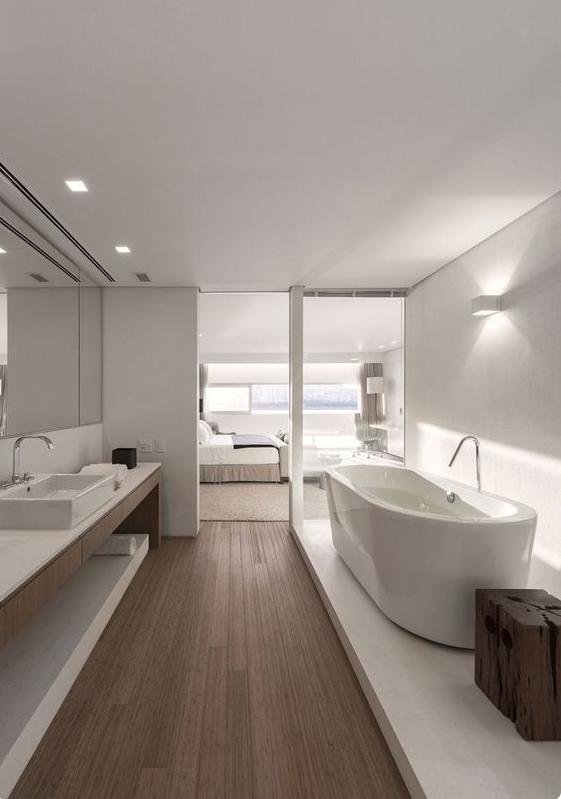Come creare con arredi e complementi shabby la magia anche in un bagno moderno