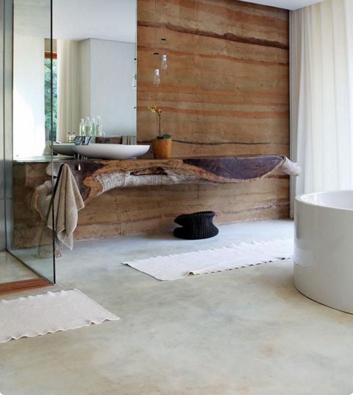 Come creare con arredi e complementi shabby la magia anche in un bagno moderno - Vasca bagno design ...