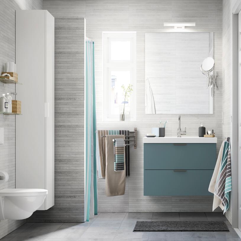 Idee shabby guardando i bagni ikea ecco cosa comprerei io e quanto spenderei foto - Idee bagno ikea ...