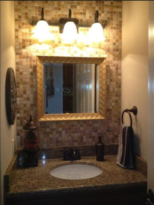 Come arredare un bagno in muratura piccolo - Comporre un bagno ...