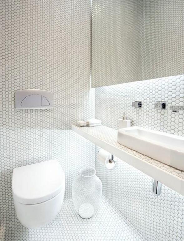 Il bagno moderno con il mosaico potrebbe essere un 39 ottima - Comporre un bagno ...