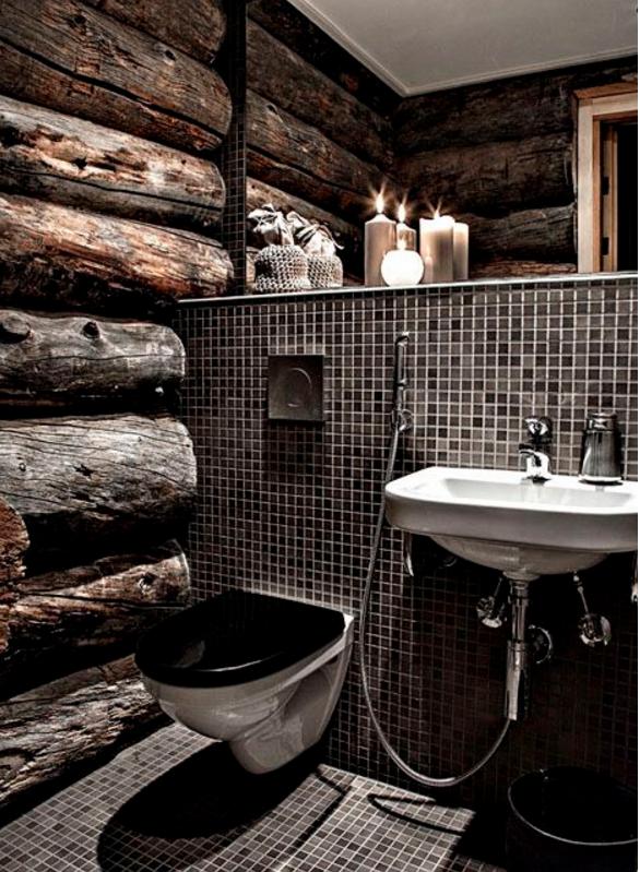 Il bagno moderno con il mosaico potrebbe essere un 39 ottima soluzione - Immagini mosaico bagno ...